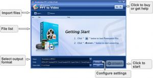 Wondershare PPT to Video 6.0.3.11 - náhled