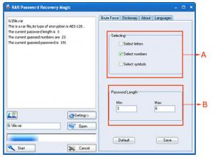 RAR Password Recovery Magic 6.1.1.393 - náhled