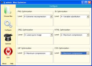 Kashmir Web Optimizer 0.1 - náhled