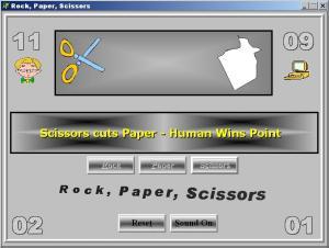 Rock, Paper, Scissors - náhled