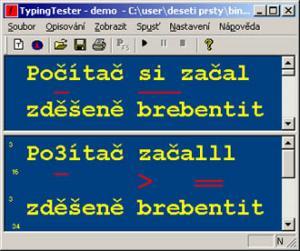 TypingTester