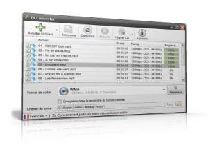 Free Mp3 M4a Wma Converter 1.5 - náhled