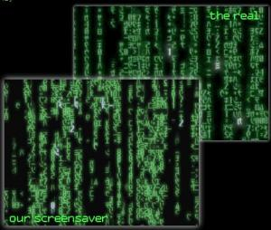 The Matrix Trilogy Screensaver 0.58 - náhled