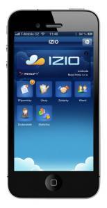 Informační systém IZIO 1.0 - náhled