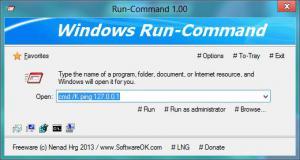 Run-Command 2.99 - náhled