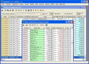 Účetní program AdmWin PU 2.74 - náhled
