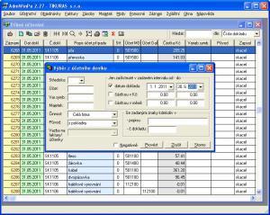 Účetní program AdmWin PU 2.84 - náhled