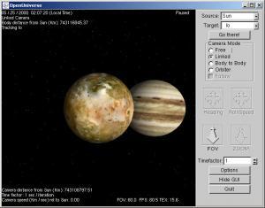 Pohled na Jupiter z orbity měsíce IO - náhled