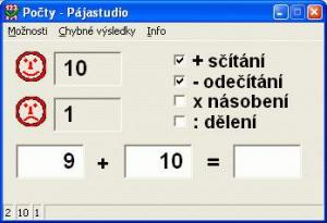 základní formulář - náhled