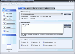 .NET Reactor 5.9.8.0 - náhled