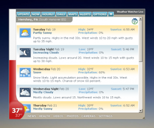 Weather Watcher Live 7.2.222 - náhled