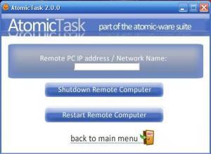 AtomicTask 2.0.0 - náhled