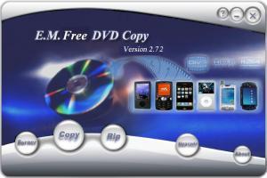 E.M. Free DVD Copy 2.72 - náhled