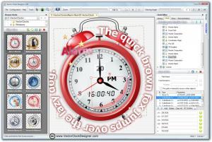 Vector Clock Designer 1.20 - náhled