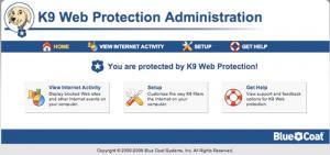 K9 Web Protection 4.3.188 - náhled