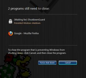 ShutdownGuard 1.0 - náhled