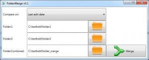 FolderMerge 0.4 - náhled
