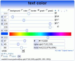 Lapač barev 1.0 - náhled