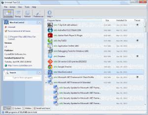 Uninstall Tool 3.5.6 - náhled