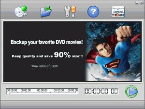 Adusoft DVD Ripper 2.0 - náhled