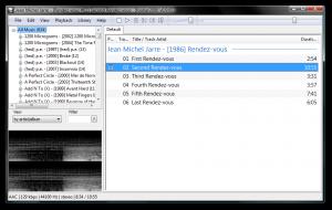 Foobar2000 1.3.17 - náhled