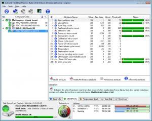 Active@ Hard Disk Monitor 3.1.6 - náhled