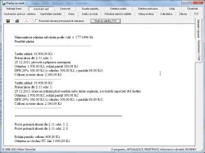 Advokátní kalkulačka 3.34 - náhled