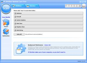 PC Brother System Care Free 2.2.3.2 - náhled