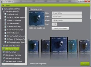 Cover Retriever 1.1.0 - náhled