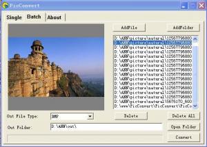 PicConvert 1.6 - náhled
