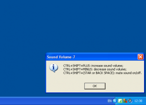 Sound Volume-7 1.0 - náhled