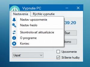 Vypnutie PC / Vypnutí PC - náhled