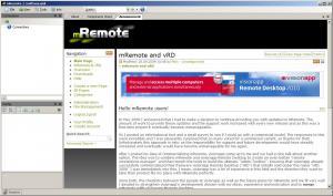 mRemote Portable 1.50 - náhled