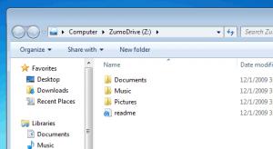 ZumoDrive 0.989 - náhled
