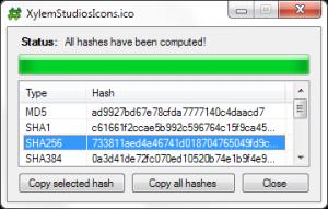 HashSlash 1.5.0 - náhled
