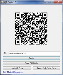 QR Code 1.0 - náhled
