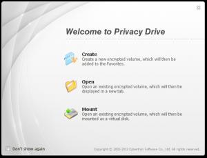 Privacy Drive 3.17 - náhled