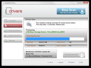UpdateStar Drivers 6.2.0 - náhled