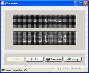 ClockAxon 2.3 - náhled