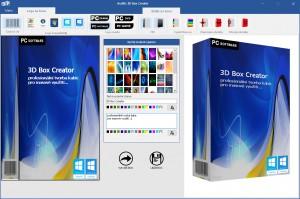 Asoftis 3D Box Creator - náhled