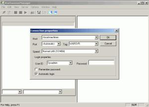 War FTP Daemon 1.82.00 RC12 - náhled