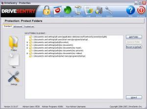 DriveSentry 3.0.1 - náhled