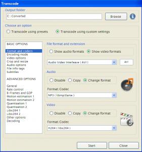 GVC 0.6 beta 1 - náhled