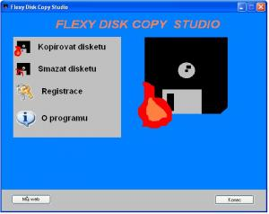 Flexy Disk Copy Studio 1.2 - náhled