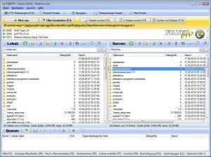 FilterFTP 1.03 - náhled