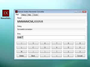 Roman Arabic Numerals Converter - náhled