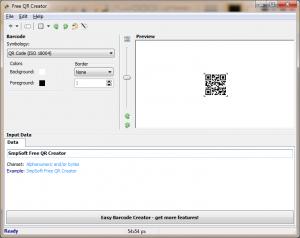 Free QR Creator 1.0.0 - náhled