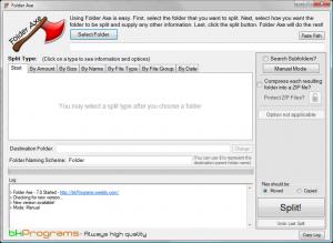 Folder Axe 7.0 - náhled