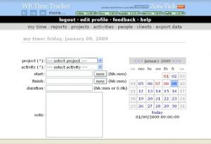 Anuko Time Tracker 1.13 - náhled