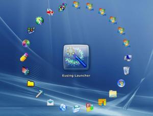 Eusing Launcher 3.3 - náhled